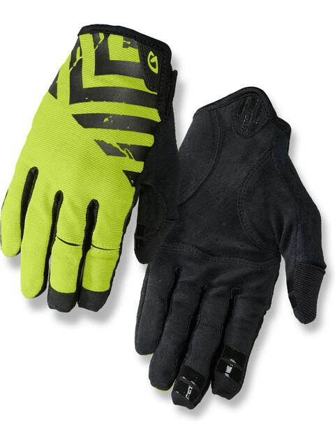 Giro DND Cykelhandsker grøn/sort